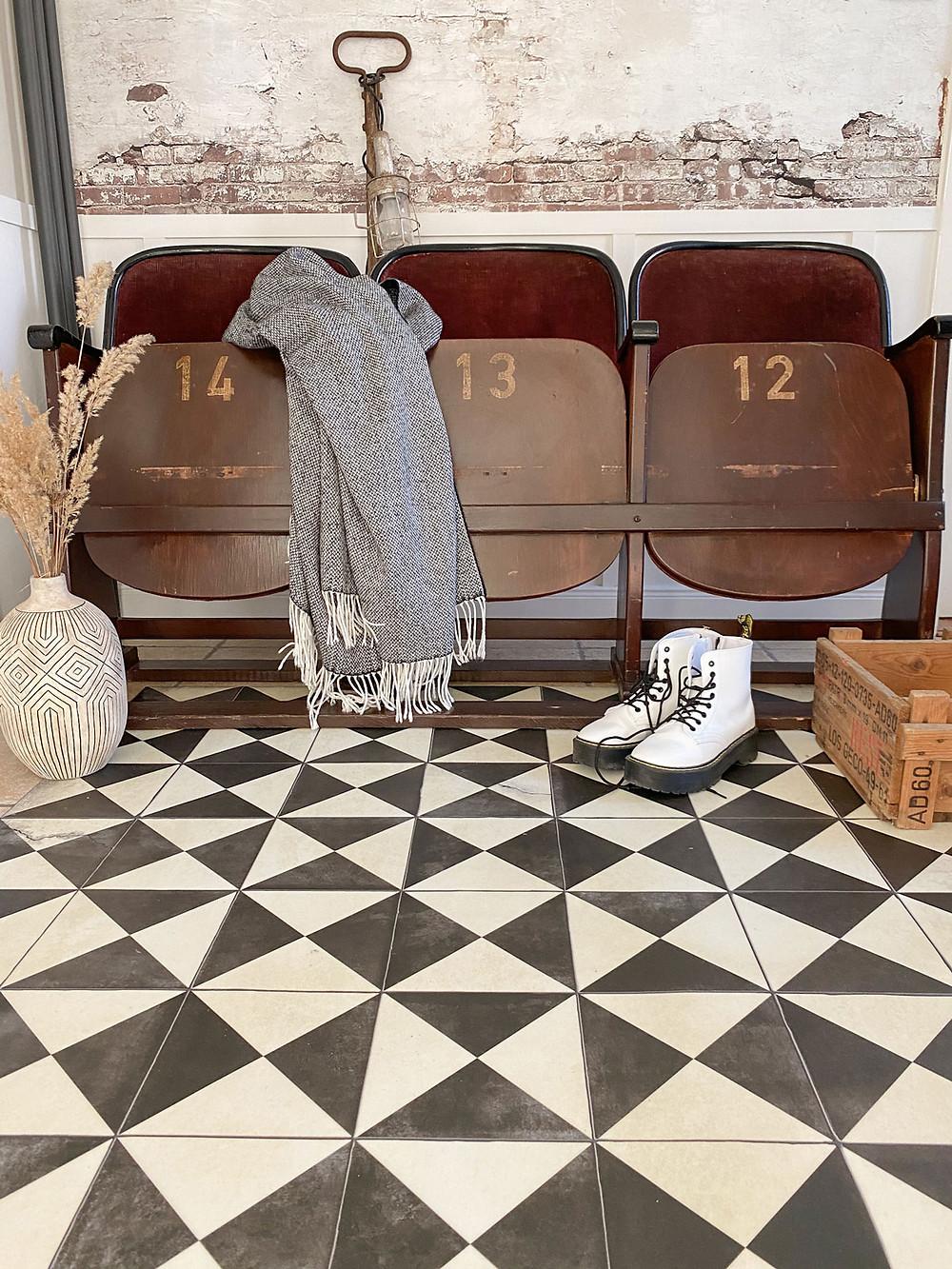 Beija Flor Vinylmatte als Alternative zum Fußboden streichen