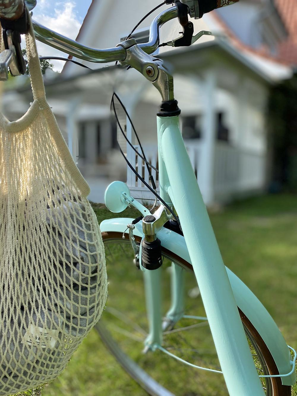 Ein Fahrrad streichen mit Fusion Mineral Paint