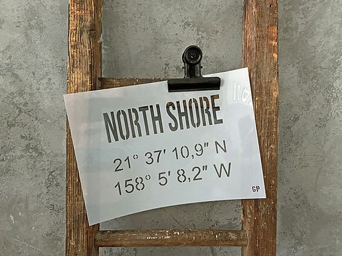 Schablone North Shore