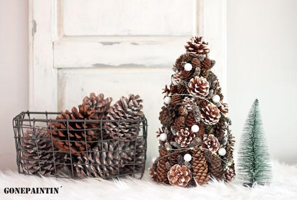 Weihnachtsschmuck DIY Tannenbaum