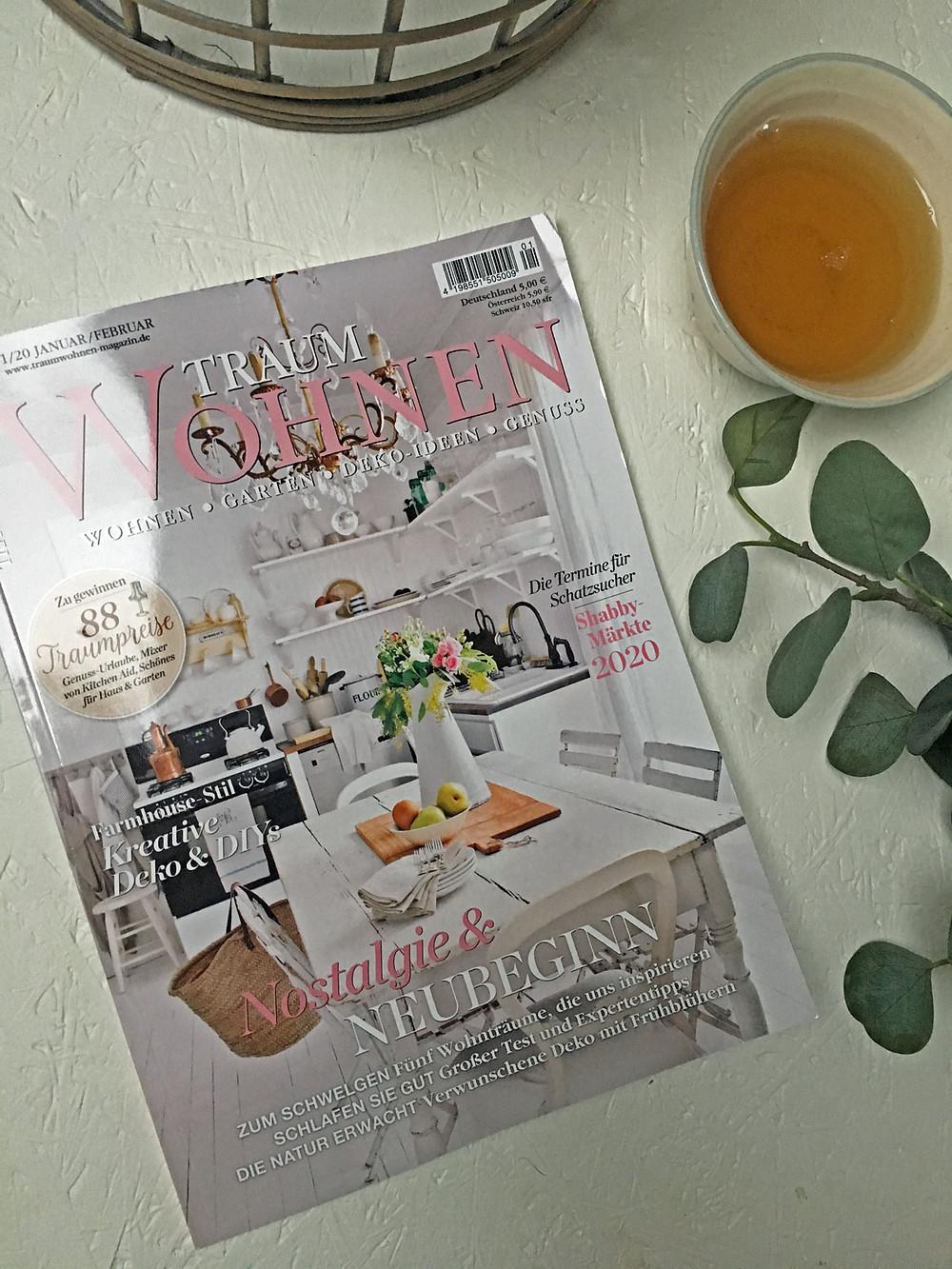 Traumwohnen Magazin mit gonepaintin