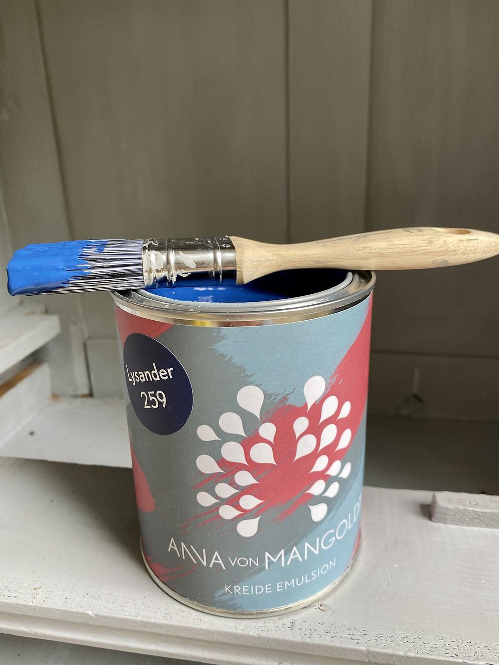 Anna von Mangoldt Kreidefarbe