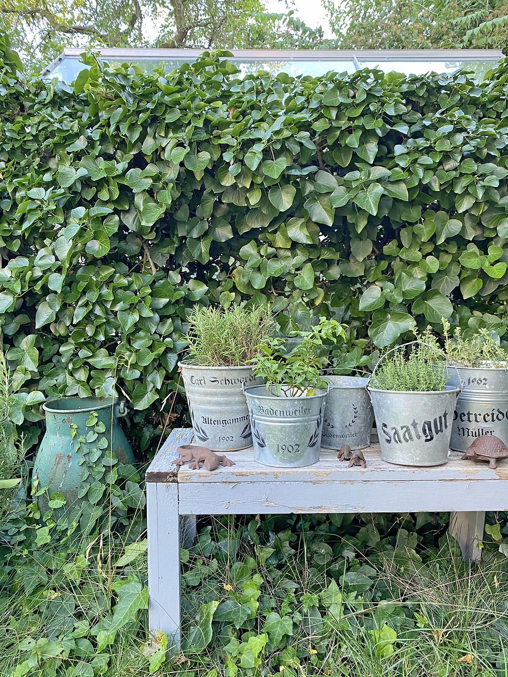 Schablonen gonepaintin für die Gartendeko