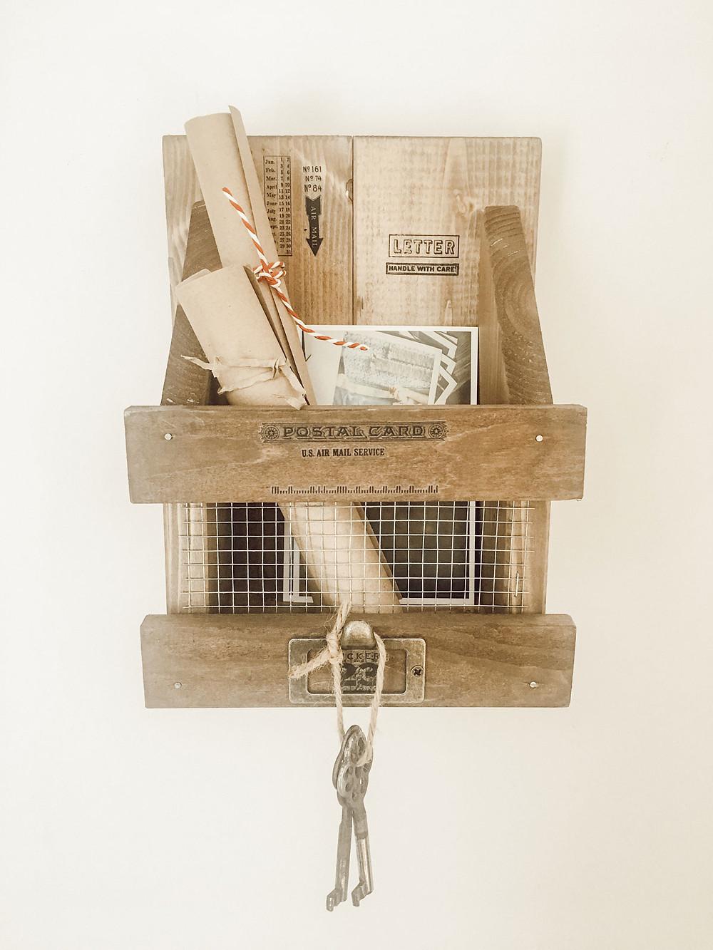 DIY Holz Organizer selber machen