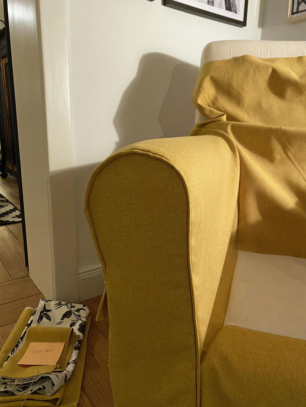 DIY Sesselbezug selber nähen