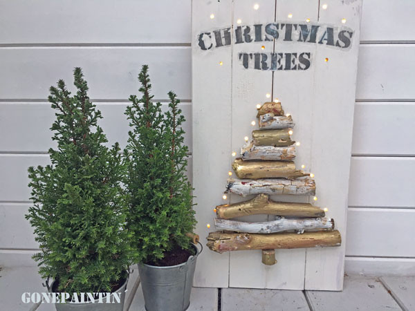 Weihnachtsschild
