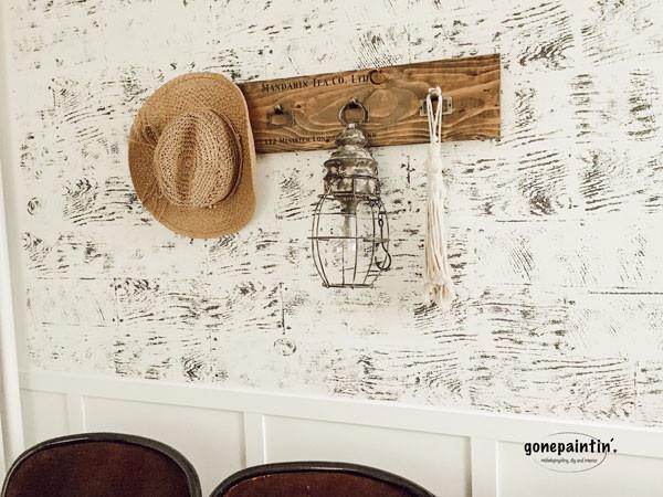 Täfelung stempeln für die Wand mit IOD
