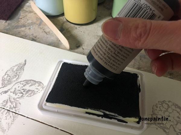 IOD Stamps im Vogeldesign