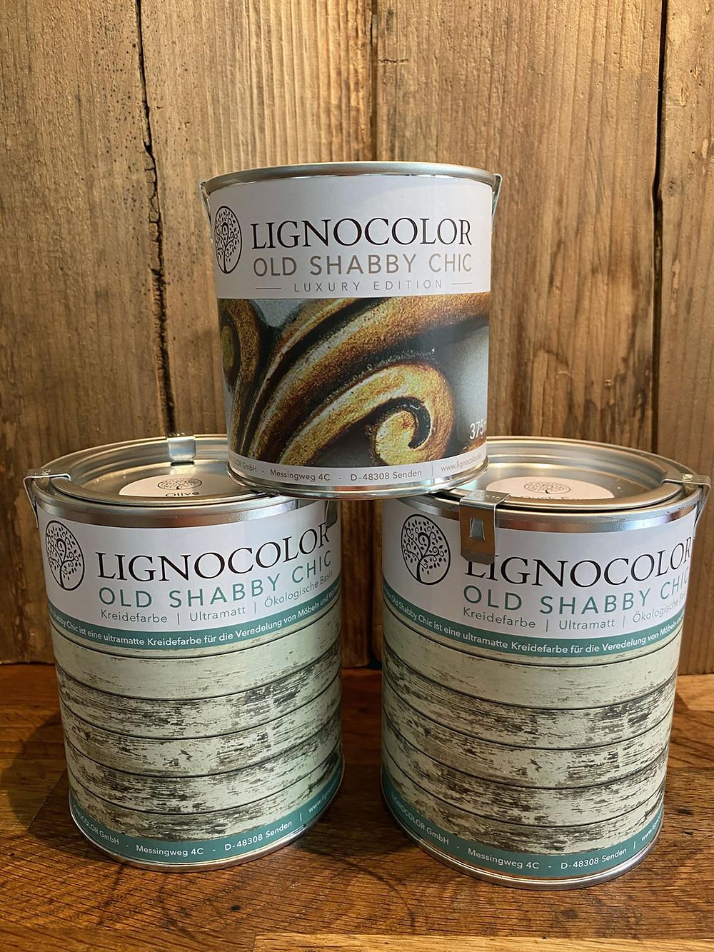 Lignocolor Kreidefarbe für Plastik streichen