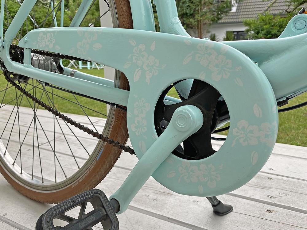Fahrrad streichen statt lackieren ohne Spray