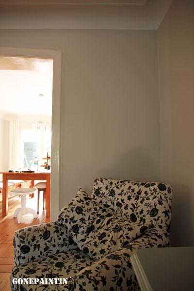 ungestrichene Wand gonepaintin