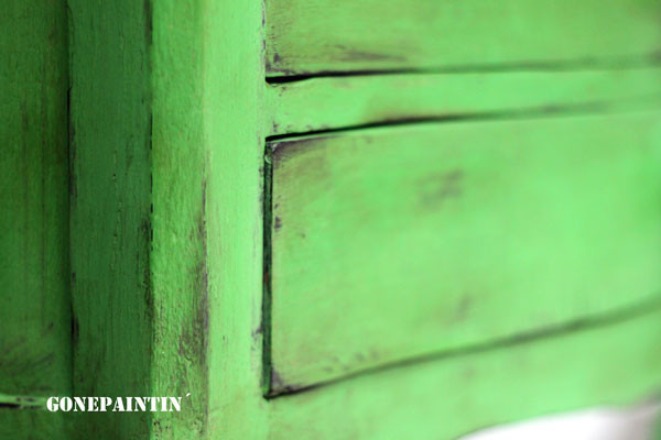 Kreidefarbe versiegeln mit Wachs, Lack oder Öl