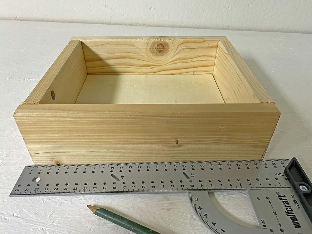 Eine Schublade selber bauen