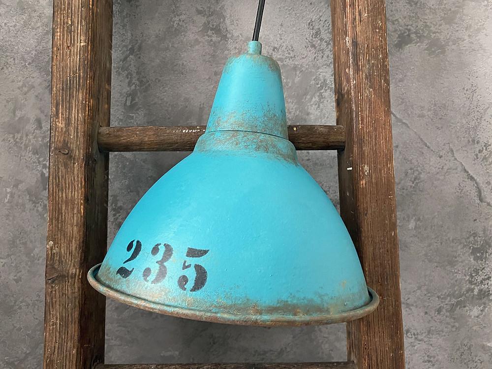Industrielampe selber machen