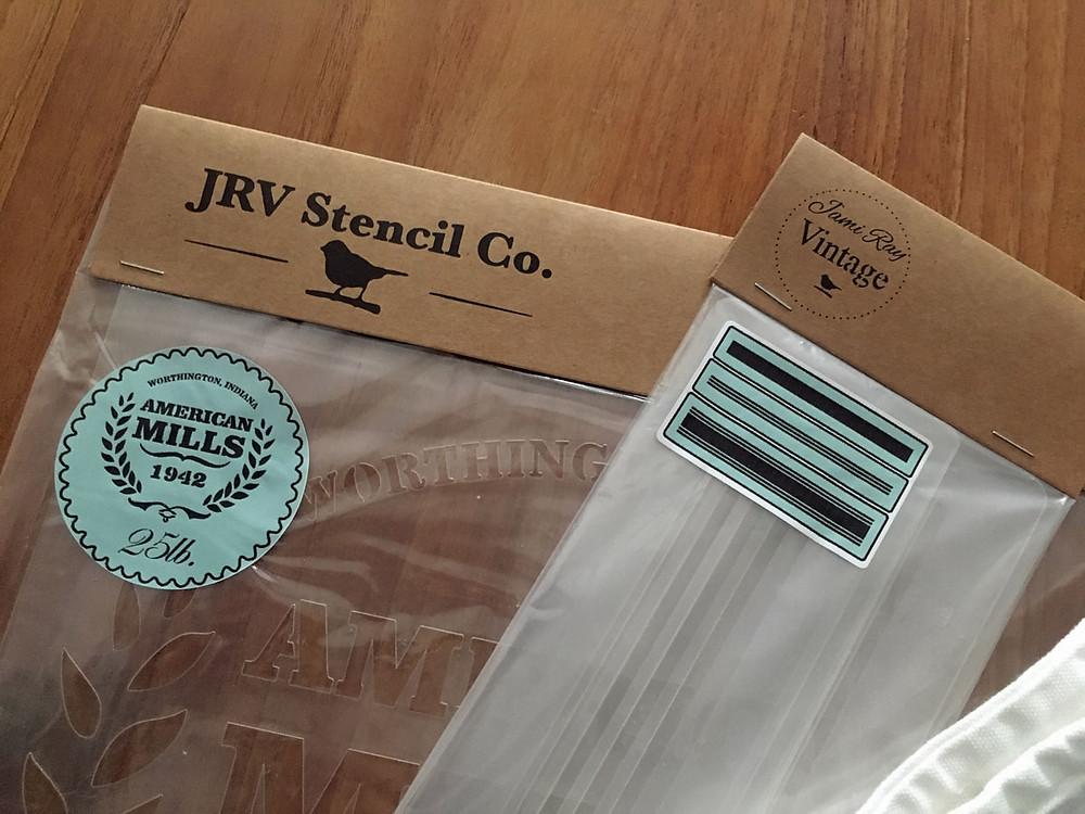 Schablone von Jami Ray Vintage im Test