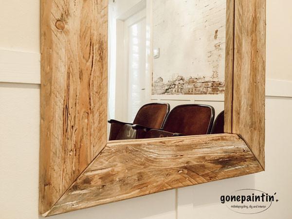 Spiegel im Treibholz Look selber machen