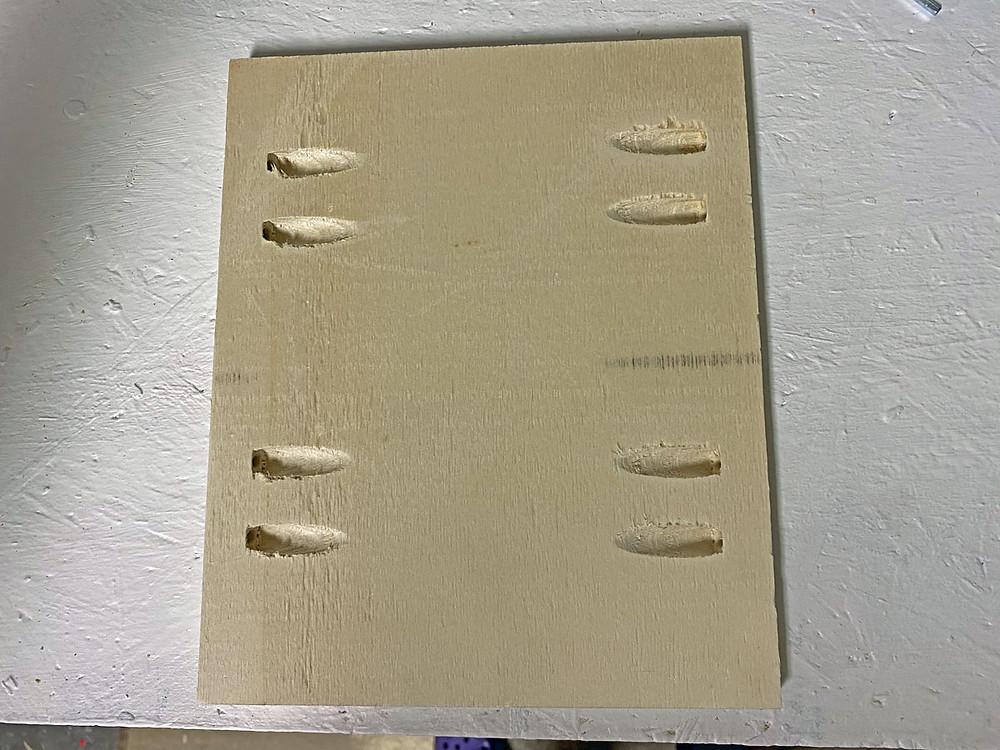 Spanplatte für DIY Schublade