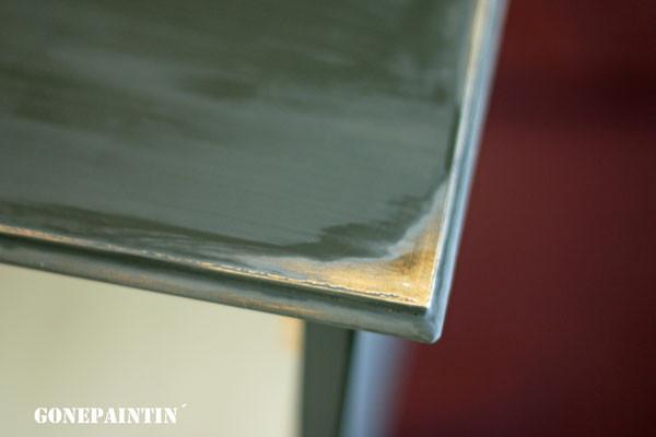 Goldkante Deckplatte