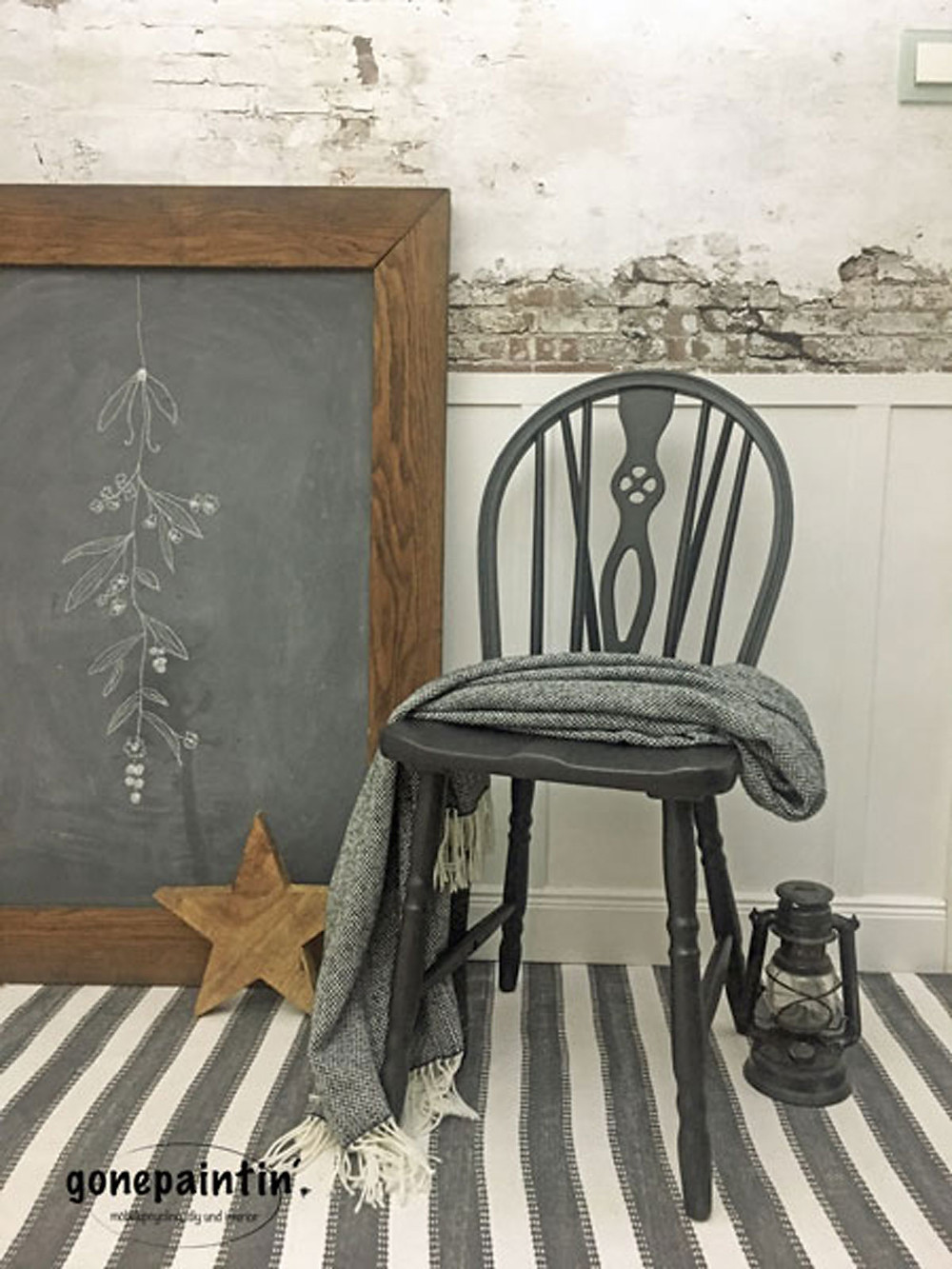 Landhausstil mit Fusion Mineral Paint für Möbel