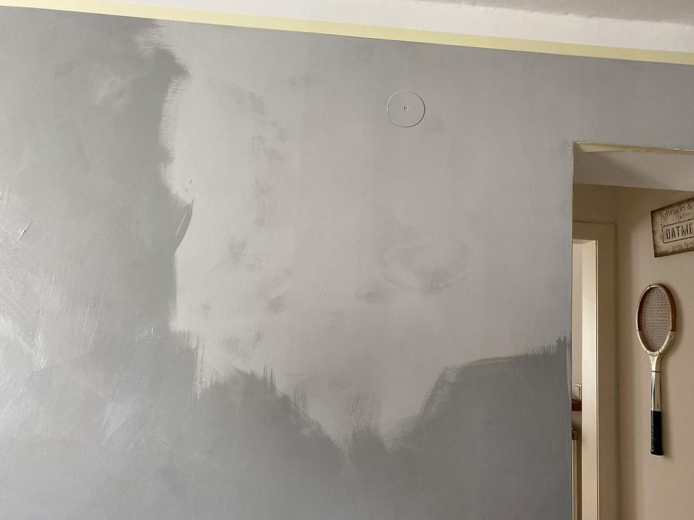 Versiegelung für die Wand