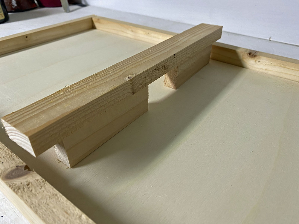 Brücke bauen für DIY Holz Brettspiel