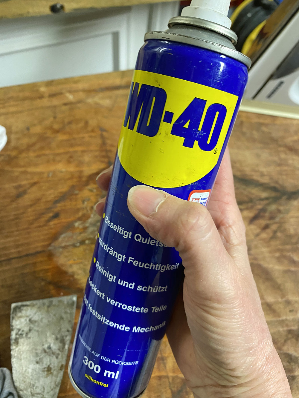 WD 40 für den Werkstattgebrauch