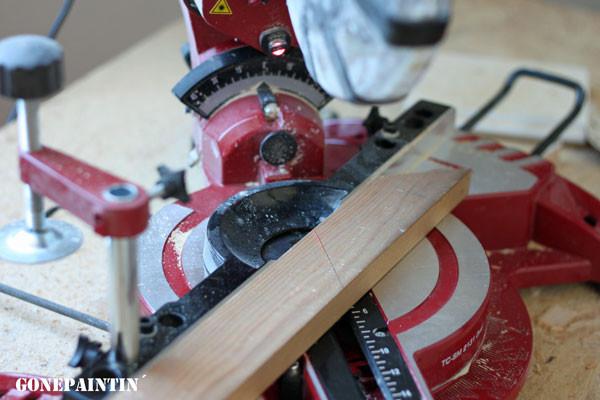 Holzarbeiten mit gonepaintin