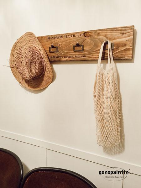 DIY Garderobe im Landhausstil