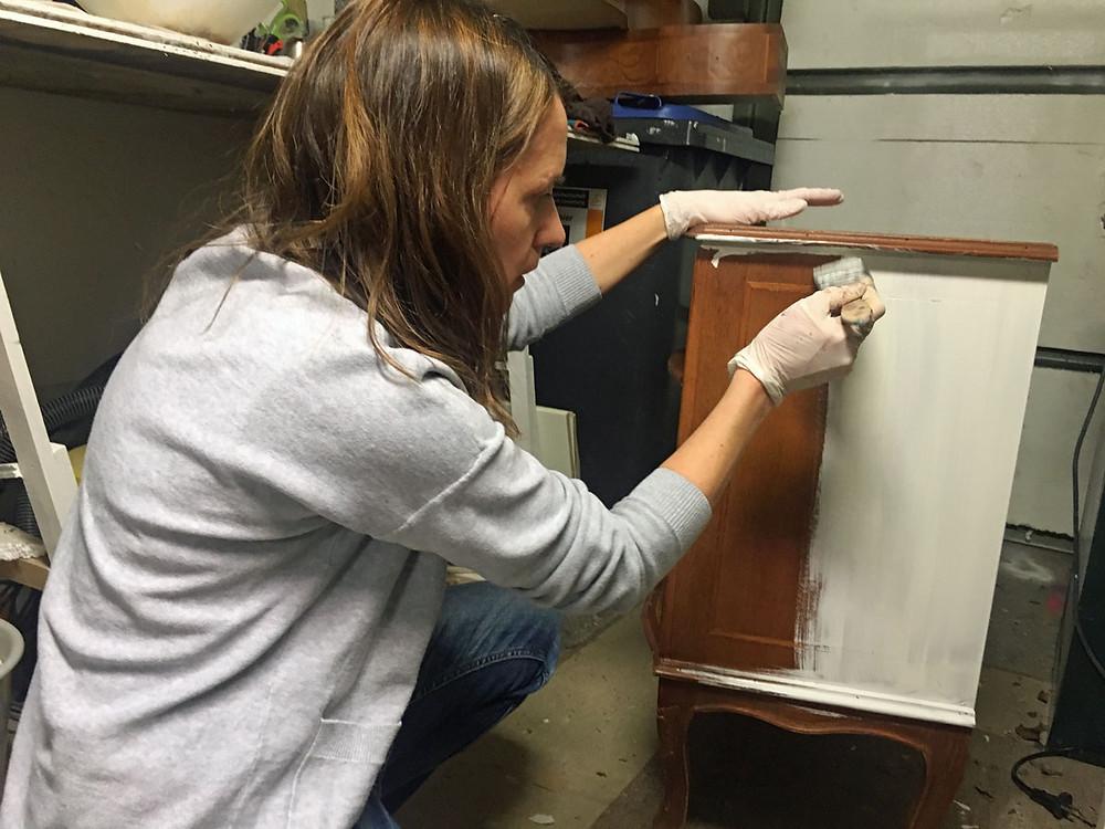 Möbel streichen gonepaintin Daggi Dethlefsen