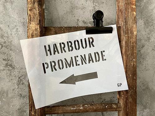Schablone Harbour Promenade