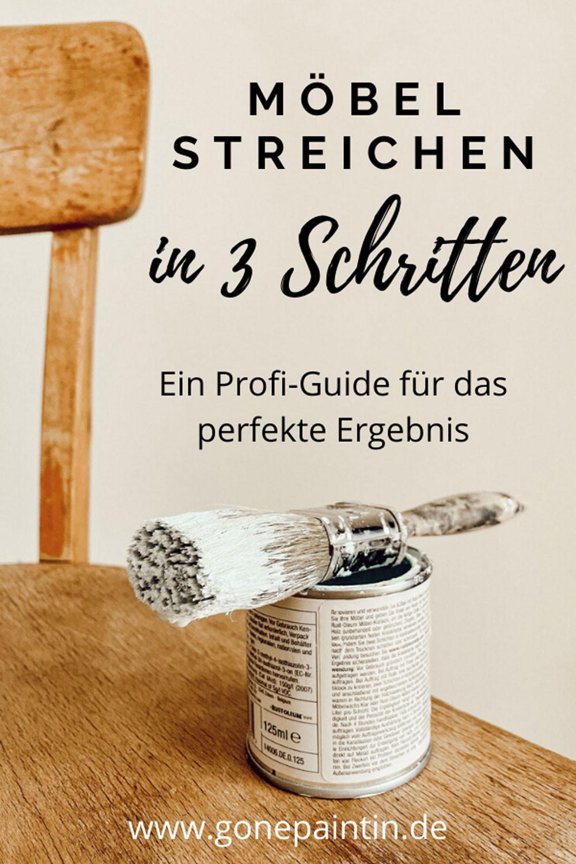 Möbel streichen Profi Guide mit Anleitung