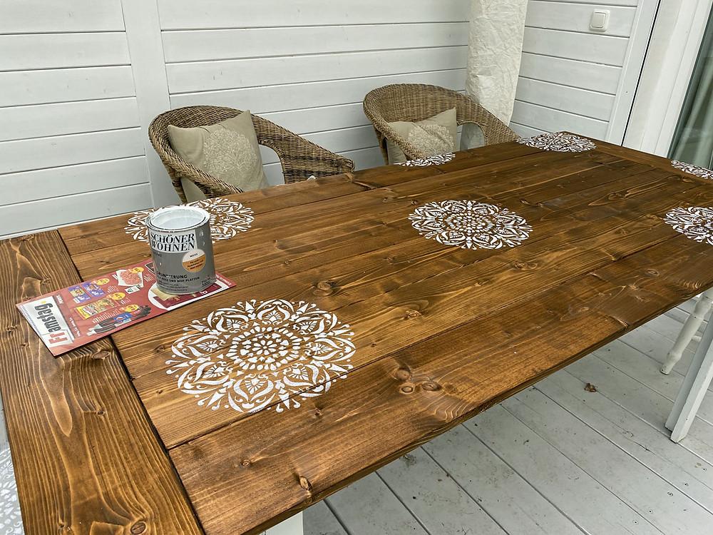 DIY Tischplatte selber bauen
