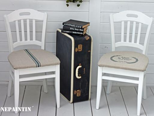 Sperrmüllfund des Monats: Stühle im Farmhouse Stil