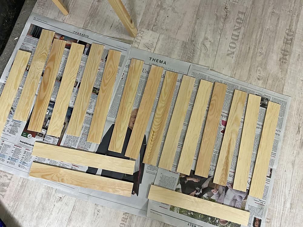 Eine Schubladenschrank selber bauen DIY