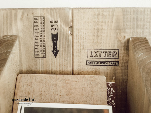 DIY Postkasten im Landhausstil