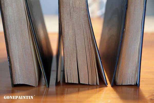 Bücher altern lassen