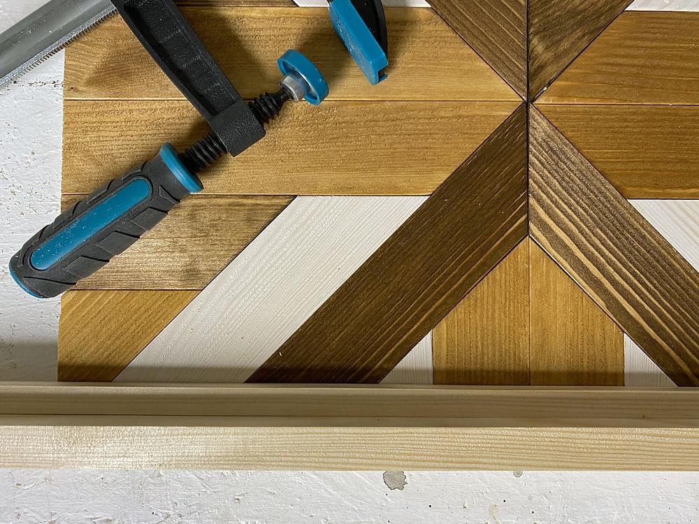 DIY Tablett aus Holz selber machen - Kooperation mit wolfcraft