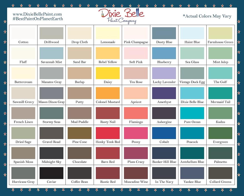 Dixie Belle Paint Kreidefarbe kaufen bei gonepaintin