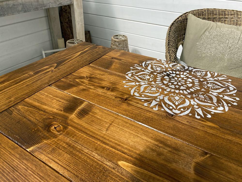 Hartwachsöl für DIY Tischplatte