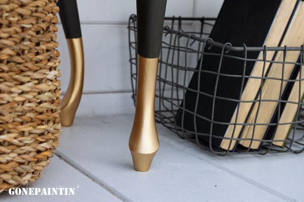 Goldene Beine