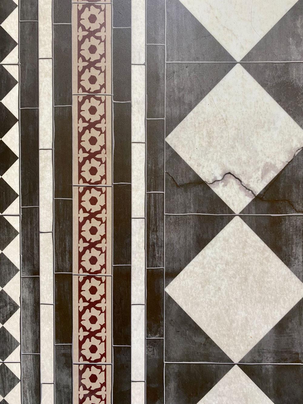 Fußboden aus Vinyl