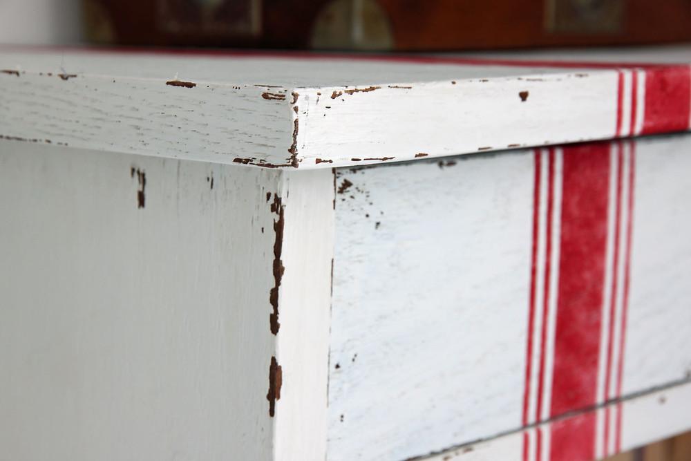 Jami Ray Vintage Schablone für Möbel streichen