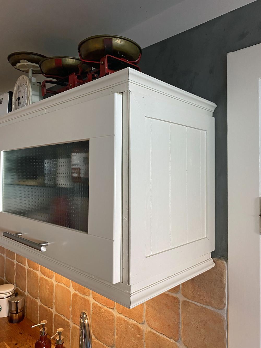 DIY Kranzleiste Küche