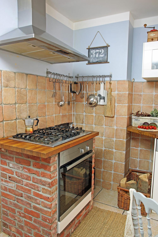 Kücheninsel upcycling für den Landhauslook