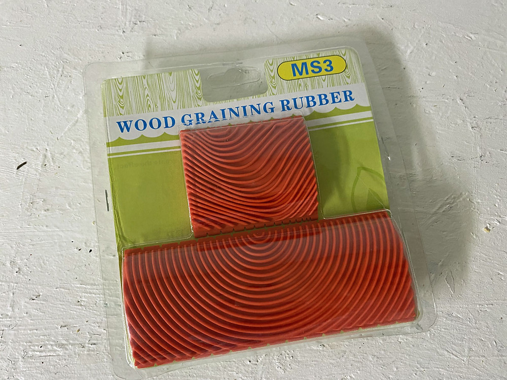 Holzmaserung selber machen mit dem Holzmaserungsinstrument Wood Grain Tool