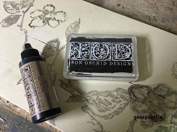 Iron Orchid Designs Stamps und gonepaintin