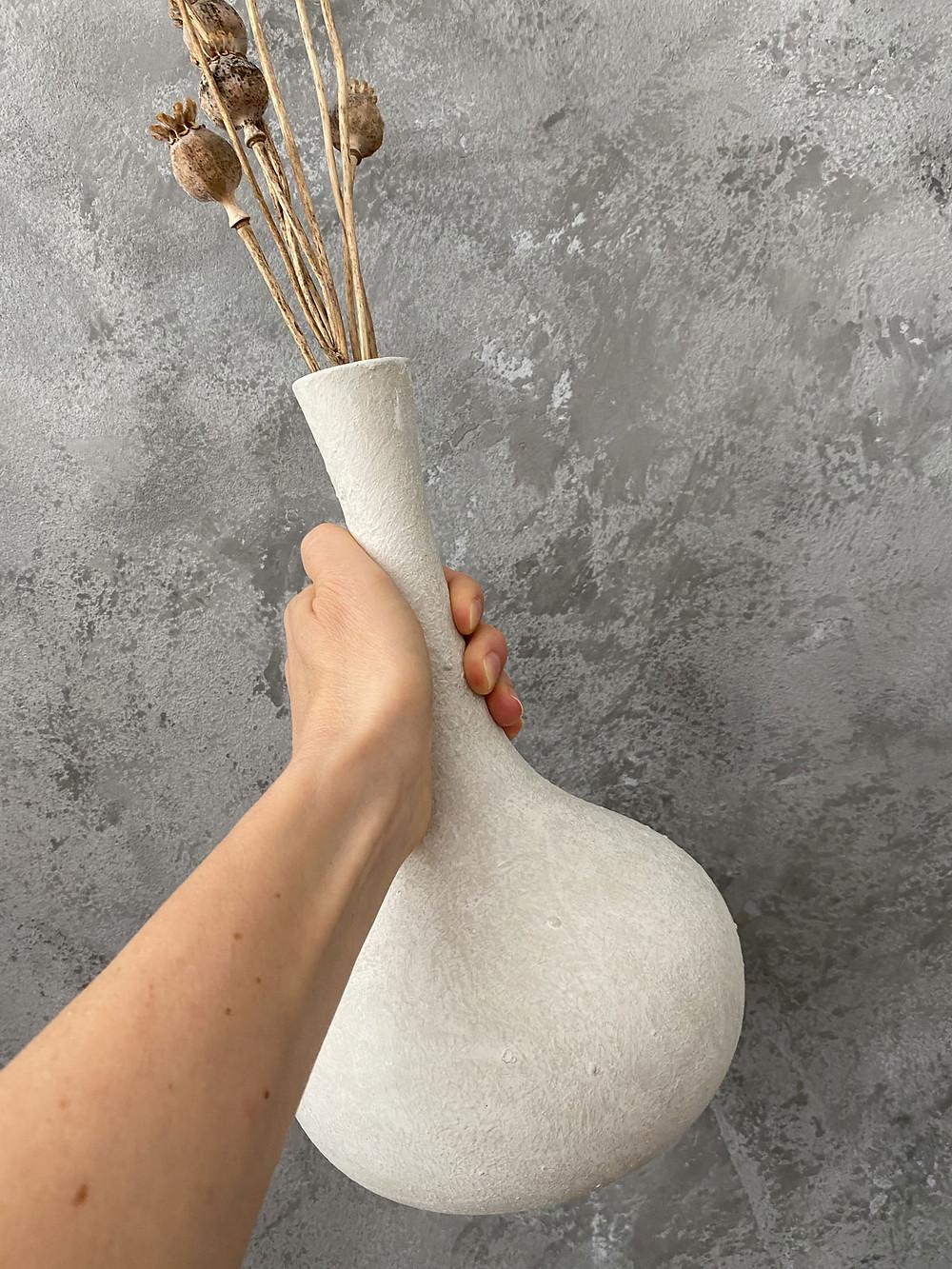 Kreidefarbe für die Vase im Boho Stil