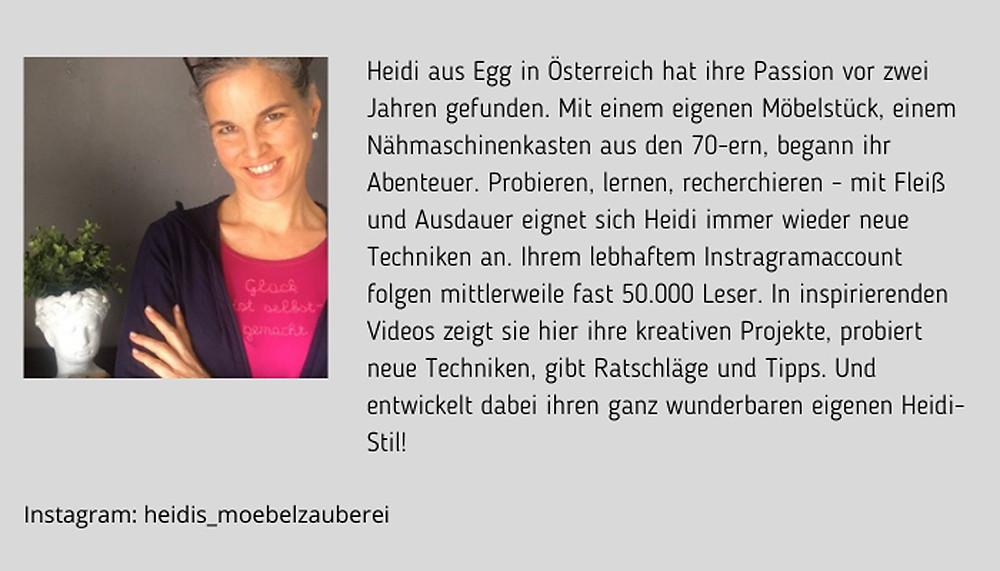Heidi Sutterlüty Heidis Möbelzauberei Bio