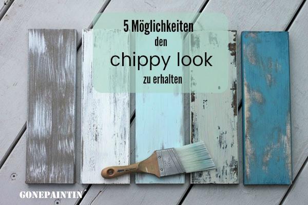 Tipps um den shabby chic und chippy look erhalten