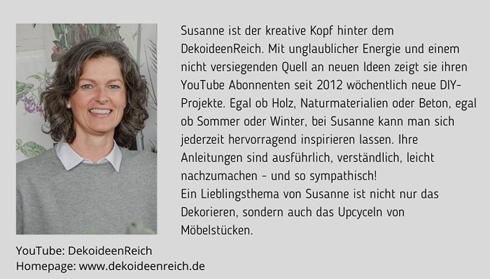 Susanne Fürstenberger Dekoideenreich Bio